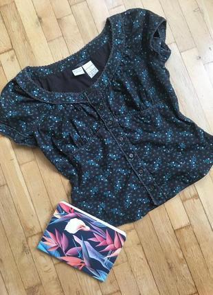 Оригинал max mara хлопок хлопковая летняя блуза