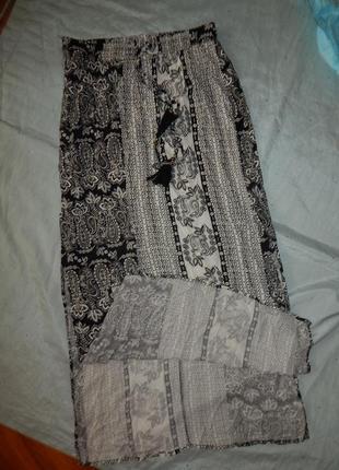 Papaya юбка длинная вискозная стильная модная р14