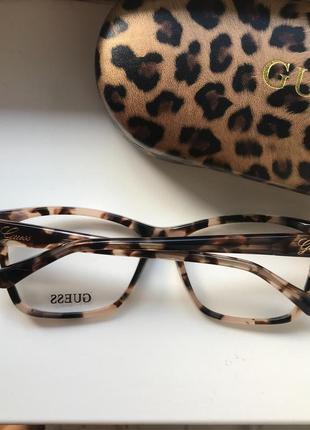 Оправа, очки guess, форма wayfarer