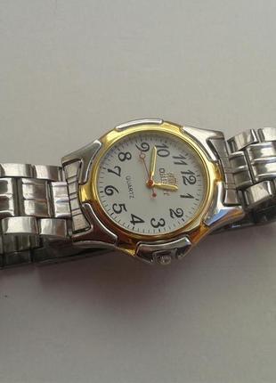 Годинник чоловічий orient (мужские часы) металевий ремінець