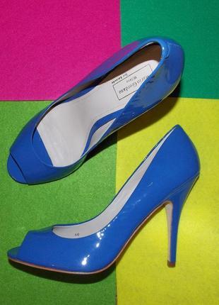 Sale на все: mario giordano туфли лодочки синие лаковые