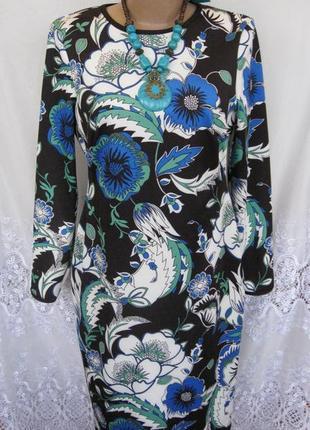 Новое стильное платье marks&spencer полиэстер m 48 - 50 c185n