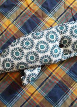 Подушка-игрушка кит (50см)
