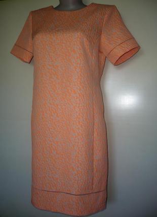 Платье жаккардовое, р.14-16