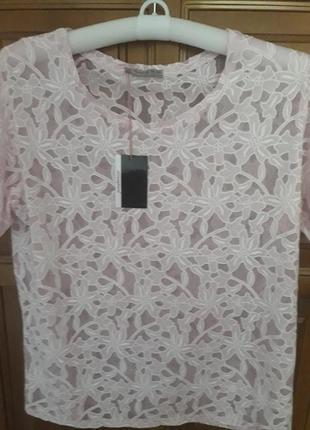 Нежная футболка блуза atmosphere