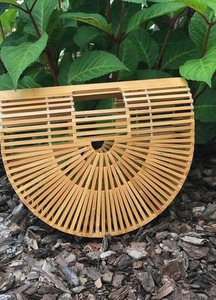 Соломенная сумка,сумка из соломы ( бамбука), сумка из бамбука, сумка