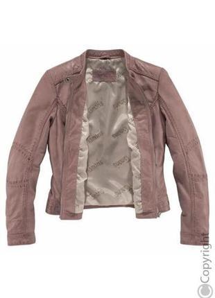 Шикарная фирменная кожаная куртка tamaris размер xl2