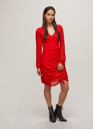 Новое шифоновое платье miss selfridge