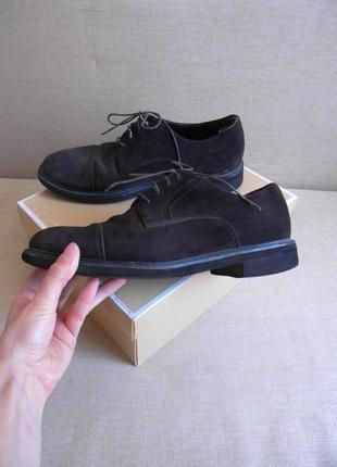 Замшевые туфли ботинки со спортивной стелькой rocksport 42 - 43 размер