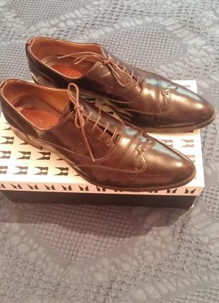 Итальянские туфли moreschi