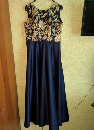 Платье нарядное на выпускной свадьбу новый год