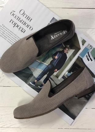 Летние мужские  итальянские туфли mckanty