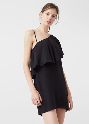 Асимметричное платье mango