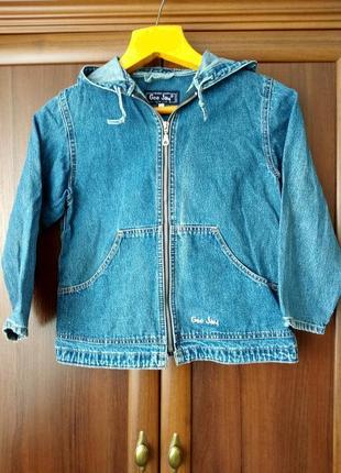 Джинсовый пиджак gee jay 32 р (6-7лет)