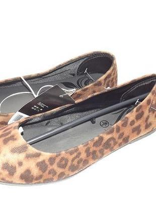 Балетки туфли esmara  на низком ходу текстиль 37