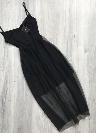 Платье сарафан с фатином atmosphere