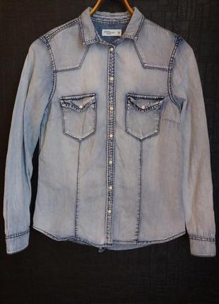 Рубашка джинсовая denim