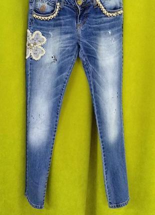 Штани джинсові justor, розмір- 26