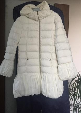 Пальто пуховик, на 12 лет, люксовый бренд herno, оригинал
