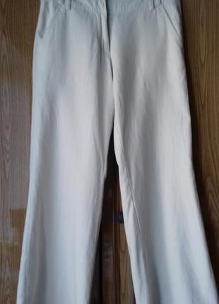 Летние брюки, лен, р. 8-10