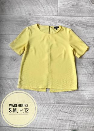 Warehouse 🌕 яркая футболка