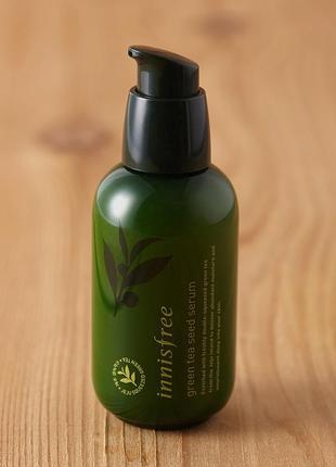 Знаменитая сыворотка для лица innisfree green tea seed serum