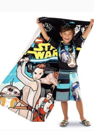 Полотенце звёздные войны star wars: the force awakens beach towel дисней оригинал disney
