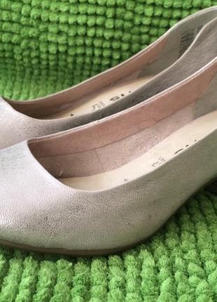 Туфли tamaris, кожа, р 36