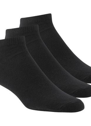 Короткие тренировочные спортивные носки, черные, reebok, оригинал