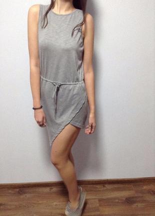 Бомбезное асимметричное платье / горячая цена/ скидки!