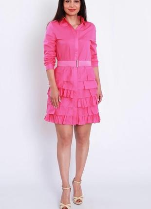 Платье хлопок + пояс
