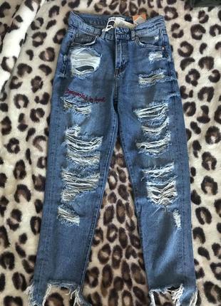 Стильные джинсы pull&bear