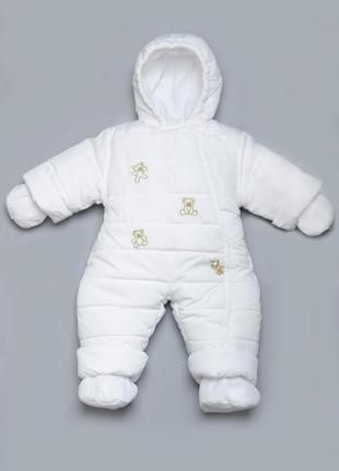 Супер зимний комбинезон, нарядный комбез, для мальчика или девочки
