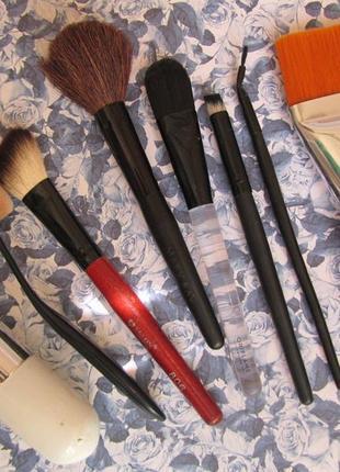 Кисти для макияжа кисточки кисть кисточка тонального маски растушевки подводки румян пудры