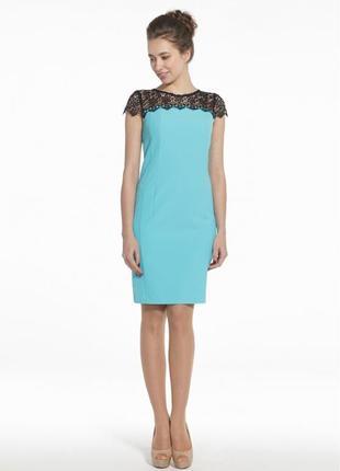 Красивое платье с черным кружевом от украинского производителя «petro soroka»