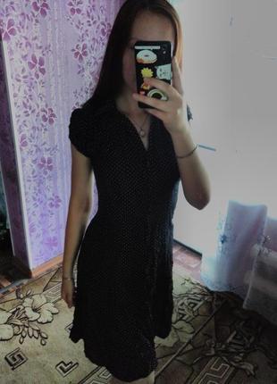 Платье в горошек f&f