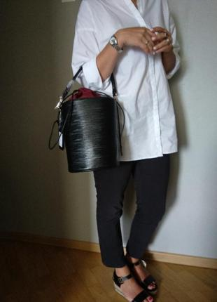 Модная сумочка-бочонок