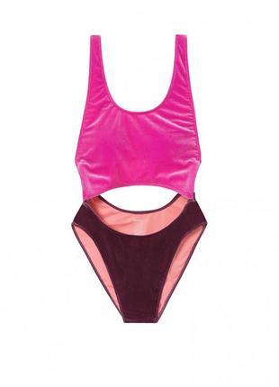 Цельный купальник victoria's secret pink