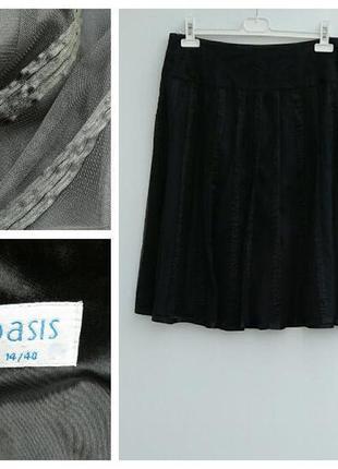 Юбка с фатином юбка пачка миди трендовая елегантная юбка