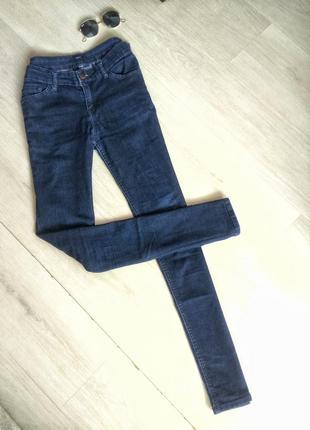 Джинсы скинни, джинсы темно-синие , джинсы kiabi