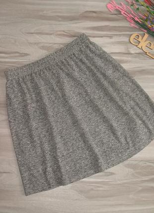 Трикотажная  юбка., пояс резинка  размер eur 38| 40
