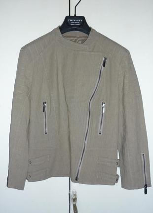 Куртка-косуха twin-set simona barbieri, р.m. новый жакет, пиджак