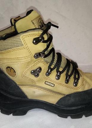 Кожаные треккинговые ботинки аdventuridge, 37-38р