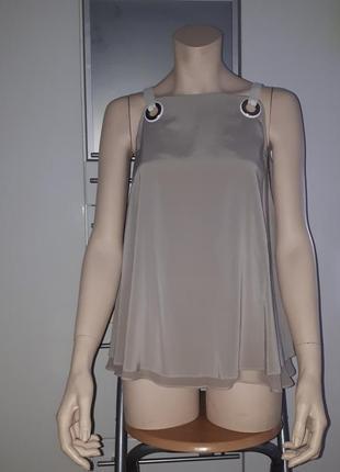 Брендовая шелковая блуза iceberg италия оригинал