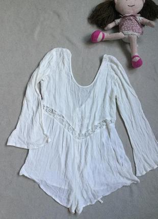 Классный ромпер платье 100% вискоза