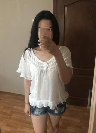 Блуза легкая 100% хлопок
