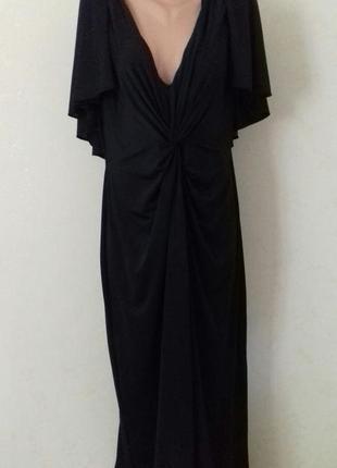 Новое длинное шикарное платье большого размера