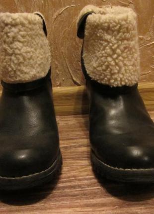 Демисезонные ботинки 39 размер