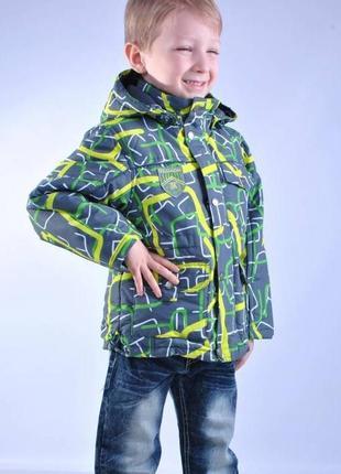 Кико 86-98 большемерит! демисезонная курточка для мальчика kiko