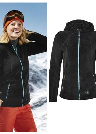 Теплая флисовая термо кофта меховая куртка толстовка crivit германия, лыжная и не только